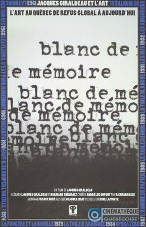 Blanc de mémoire