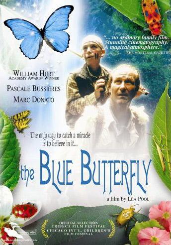 Papillon bleu, Le