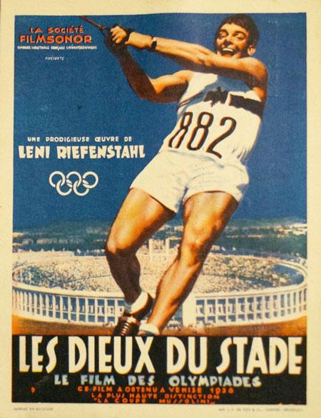 Dieux du stade, Les (Olympia - Fest der Völker - Erster Film von den Olympischen Spielen Berlin)