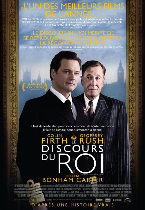 Discours du roi, Le (King's Speech, The)