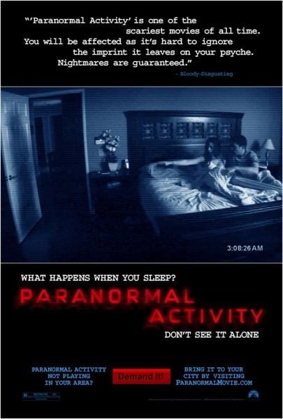 Activité paranormale (Paranormal Activity)
