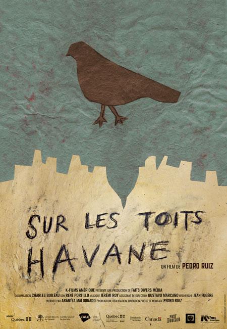 Sur les toits Havane