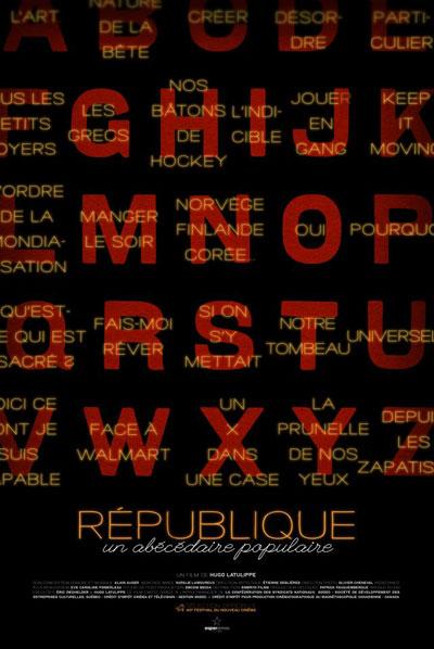 République, un abécédaire populaire
