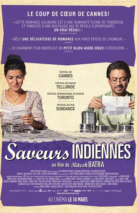 Saveurs indiennes (Dabba)