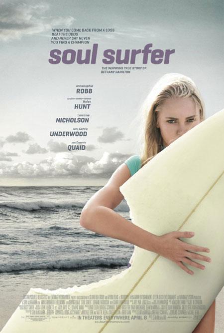 Surfeuse dans l'âme