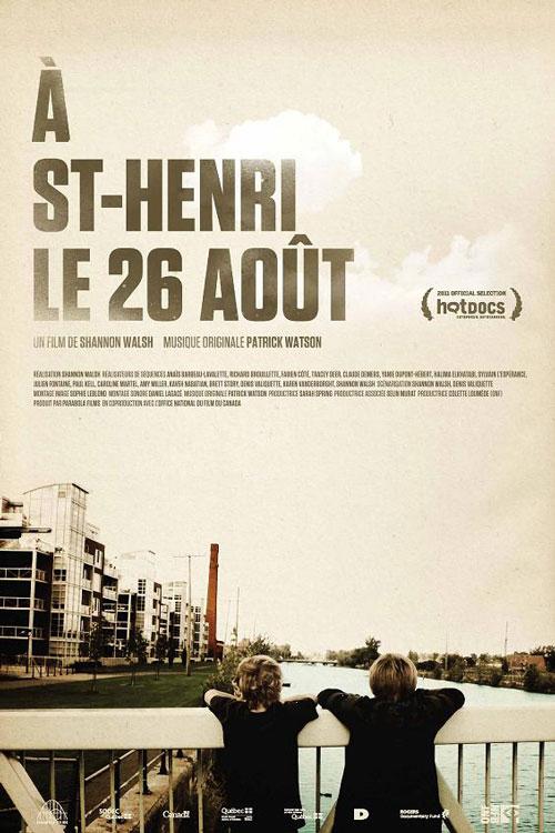 À St-Henri le 26 août