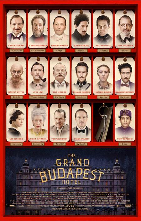 Hôtel Grand Budapest, L'