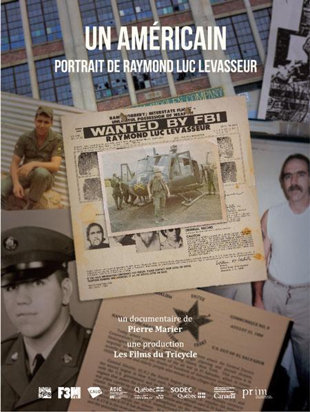 Américain - Portrait de Raymond Luc Levasseur, Un