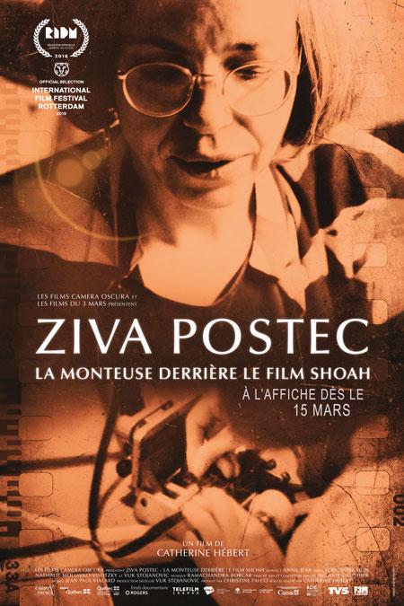 Ziva Postec - La monteuse derrière le film Shoah