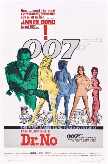 James Bond 007 contre Dr. No (Doctor No)